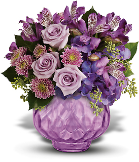 Lush and Lavender with Roses
